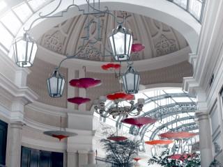 Descending Umbrellas