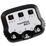 PocketWizard AC3 ZoneController for Canon
