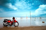 Late afternoon at Thanh Phong beach